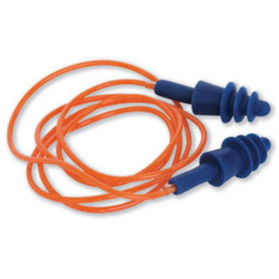 Image for ZIONS EPSC PROSIL REUSABLE CORDED EAR PLUGS from OFFICE NATIONAL CANNING VALE, JOONDALUP & OFFICE TOOLS OPD