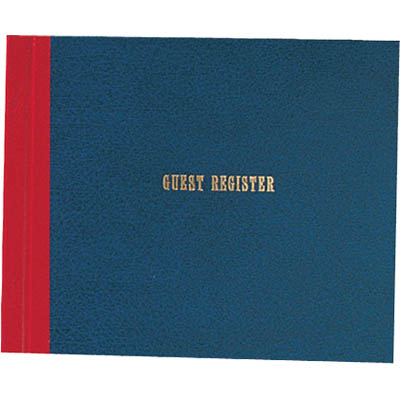 Image for ZIONS GREG GUEST REGISTER BOOK LODGERS from Office National Kalgoorlie