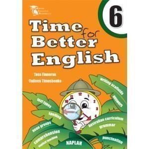 Image for TIME FOR BETTER ENGLISH BOOK 6 WORKBOOK from Office National Hobart