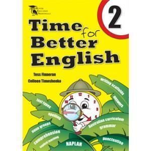 Image for TIME FOR BETTER ENGLISH BOOK 2 WORKBOOK from Office National Hobart