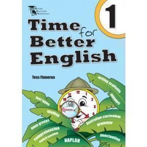 Image for TIME FOR BETTER ENGLISH BOOK 1 WORKBOOK from Office National Hobart