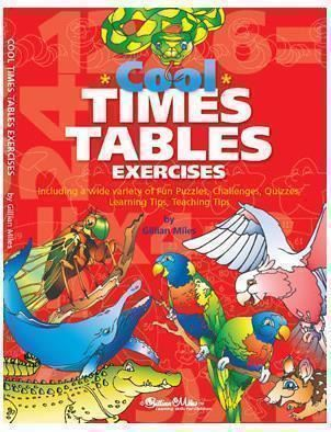 Image for COOL TIMES TABLE EXERCISES WORKBOOK from Office National Hobart