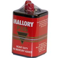 MALLORY PLUS M908 LANTERN BATTERY