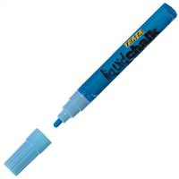 TEXTA LIQUID CHALK MARKERS WET WIPE BULLET BLUE