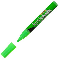 TEXTA LIQUID CHALK MARKERS WET WIPE BULLET GREEN