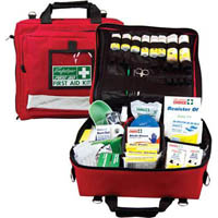 TRAFALGAR NATIONAL WORKPLACE FIRST AID KIT PORTABLE SOFTCASE