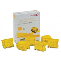 FUJI XEROX 108R01032 COLORQUBE COLORSTIX YELLOW PACK 6