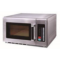BIRKO COMMERCIAL MICROWAVE 1800 WATT 34 LITRE STAINLESS STEEL