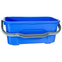 CLEANLINK WINDOW CLEANING BUCKET PLASTIC 12 LITRE BLUE