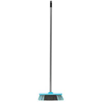 CLEANLINK BROOM INDOOR SOFT BRISTLE 12 (305MM) WIDTH WITH ALUMINIUM HANDLE