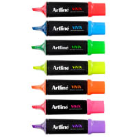 ARTLINE VIVIX HIGHLIGHTER CHISEL ASSORTED PACK 10