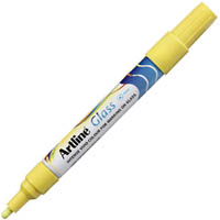 ARTLINE GLASS MARKER 2MM YELLOW
