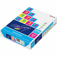 MONDI COLOR COPY A3 COPY PAPER 250GSM WHITE PACK 125 SHEETS