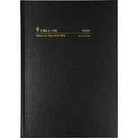 COLLINS 2019-2020 FINANCIAL YEAR DIARY DAY TO PAGE A5 BLACK
