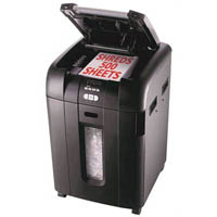REXEL AUTO+500X SHREDDER STACK AND SHRED CROSS CUT 550 SHEET