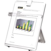 FELLOWES COPYHOLDER NON-MAGNETIC EASEL STYLE A4/LETTER 125 SHEET PLATINUM