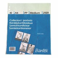 BEAUTONE COLLECTOR CARD POCKETS A4