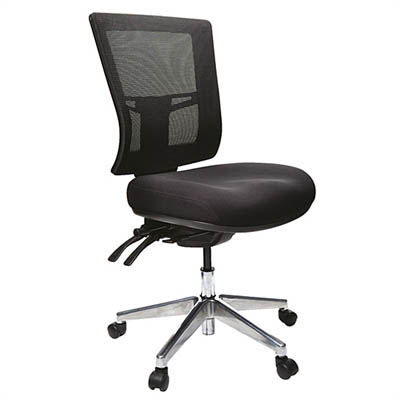BURO METRO II 24/7 MESH HIGH BACK CHAIR BLACK