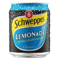 SCHWEPPES LEMONADE CAN 250ML CARTON 24