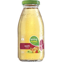 SPRING VALLEY APPLE JUICE GLASS 250ML CARTON 30