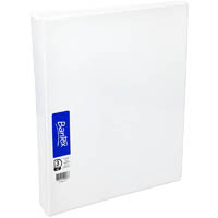 BANTEX INSERT RING BINDER 3D 19MM A4 WHITE