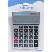 NICEDAY CALCULATOR DESKTOP SMALL 12 DIGIT