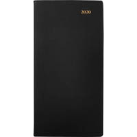 COLLINS 2020 BELMONT POCKET DIARY WEEK TO VIEW WITH PENCIL A7 BLACK