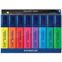 STAEDTLER TEXTSURFER CLASSIC HIGHLIGHTER ASSORTED WALLET 8