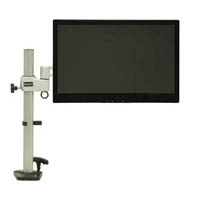 DAC MONITOR ARM ADJUSTABLE ARTICULATING SILVER