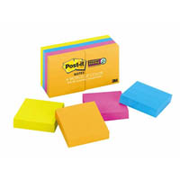 POST-IT 6228SSAU SUPER STICKY MINI NOTES 50 X 50MM RIO DE JANEIRO 8 PADS