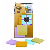 POST-IT F220-8SSAU SUPER STICKY FULL ADHESIVE NOTES ULTRA 51 X 51MM PACK 8