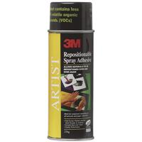 3M 75 ARTIST REPOSITIONABLE SPRAY ADHESIVE 276G