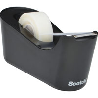 SCOTCH C18 DESKTOP TAPE DISPENSER BLACK
