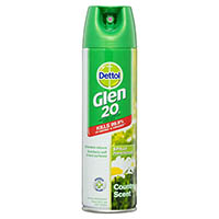 GLEN 20 DISINFECTANT SPRAY COUNTRY SCENT 300GM