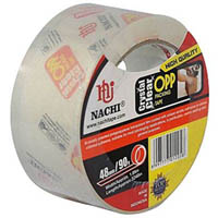 NACHI 625 CRYSTAL CLEAR PACKAGING TAPE 48MM X 50M