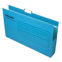 ESSELTE HANGING BOX SUSPENSION FILE 50MM BLUE PACK 25