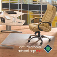 FLOORTEX ANTI-MICROBIAL CHAIRMAT 120 X 150CM