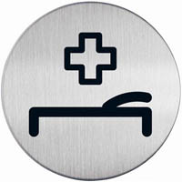 DURABLE PICTOGRAM SIGN FIRST AID ROOM 83MM