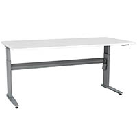 CONSET 501-25 ELECTRIC HEIGHT ADJUSTABLE DESK 1500 X 800MM WHITE