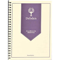 DEBDEN WIRO COMPENDIUM NOTEPAD REFILL A4 PACK 2