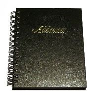 Spiral Bound Address Book