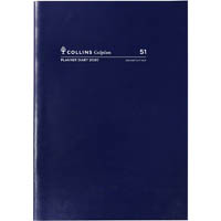 COLLINS 2020 COLPLAN PLANNER DIARY MONTH TO VIEW A4 BLUE