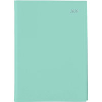 SOHO DAY TO PAGE 2018 DIARY A5 1/2HR APPOINTMENTS TEAL