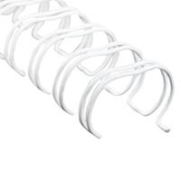 FELLOWES WIRE BINDING COMB 34 LOOP 6MM A4 WHITE PACK 100