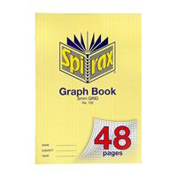 SPIRAX 132 GRAPH BOOK 5MM GRID 48 PAGE A4