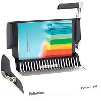 FELLOWES PULSAR BINDING MACHINE MANUAL PLASTIC COMB WHITE