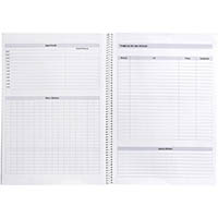 SPIRAX P704 NOTEBOOK TO DO LIST 140 PAGE A4 BLACK