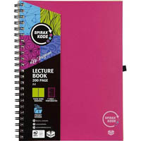 SPIRAX P958 KODE LECTURE BOOK 200 PAGE A4 PINK