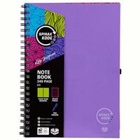 SPIRAX P959 KODE NOTE BOOK 240 PAGE A4 PURPLE