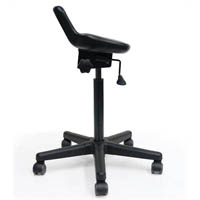 WERK SIT STAND STOOL BLACK